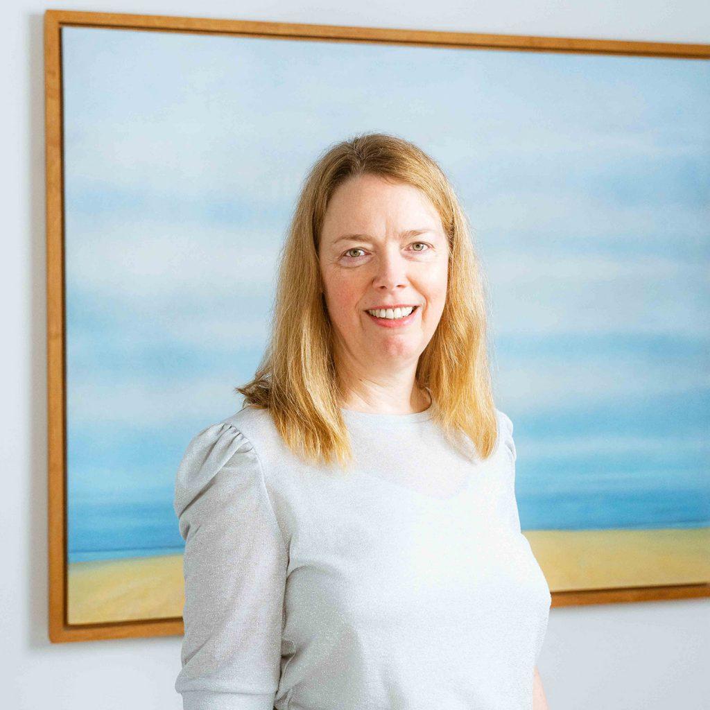 Mitarbeiterin für Geburtshilfe Hebamme Peggy Seehafer